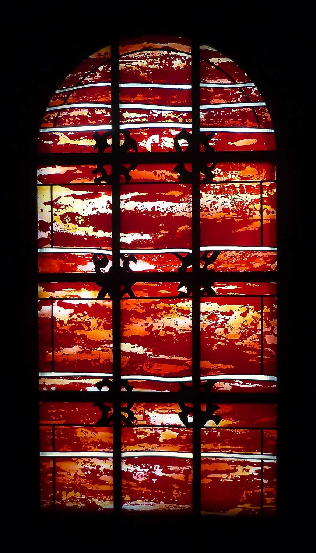 Absisfenster in der Evangelische Kirche in Renneritz