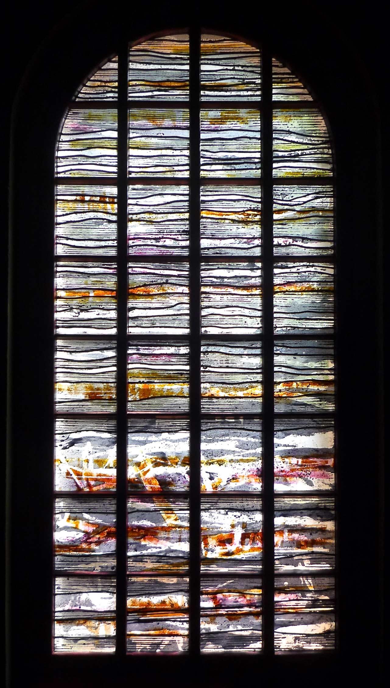 Seitenfenster in der Evangelische Kirche in Renneritz